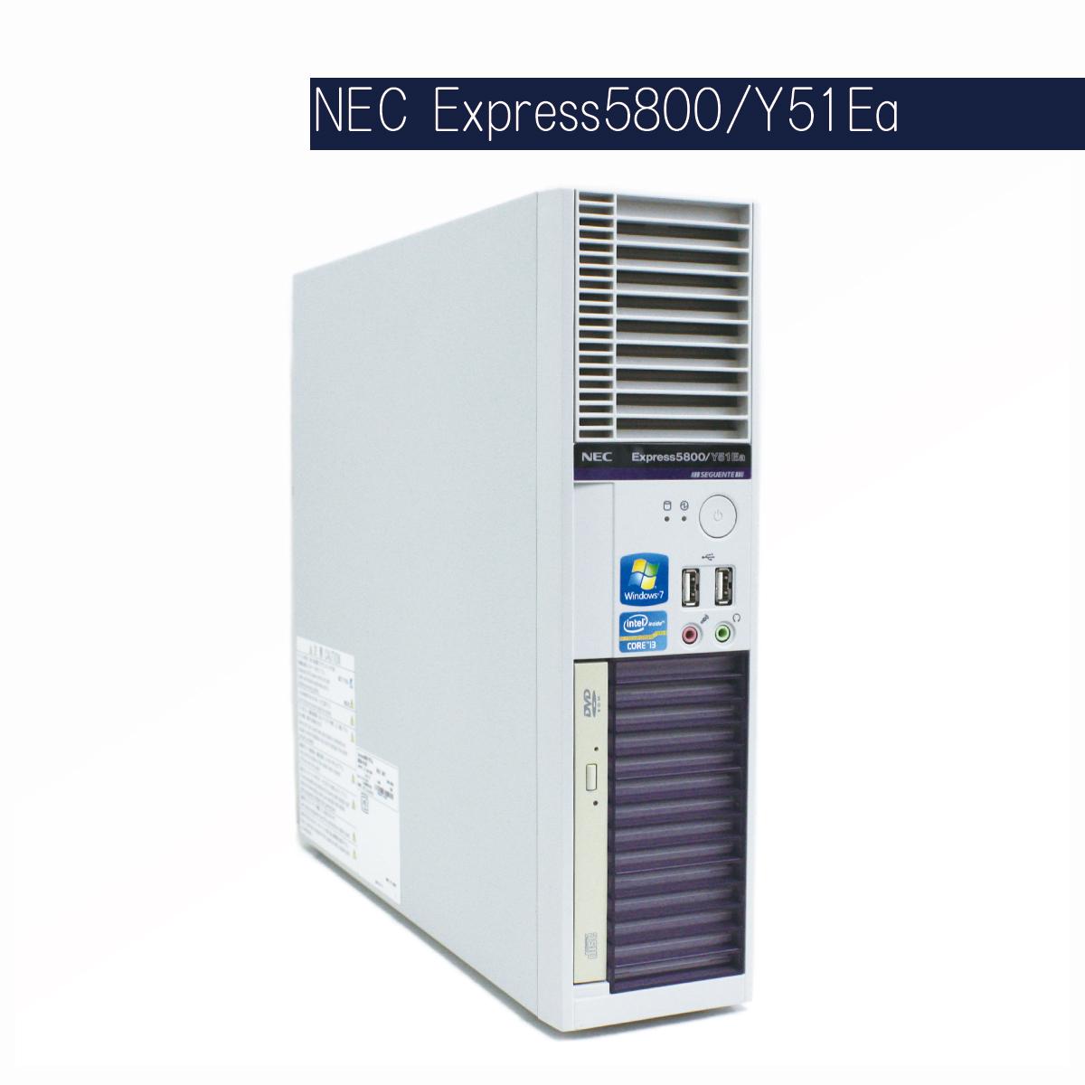 NEC Express5800 Y51Ea Corei3 2120 [3.3GHz](Win10)