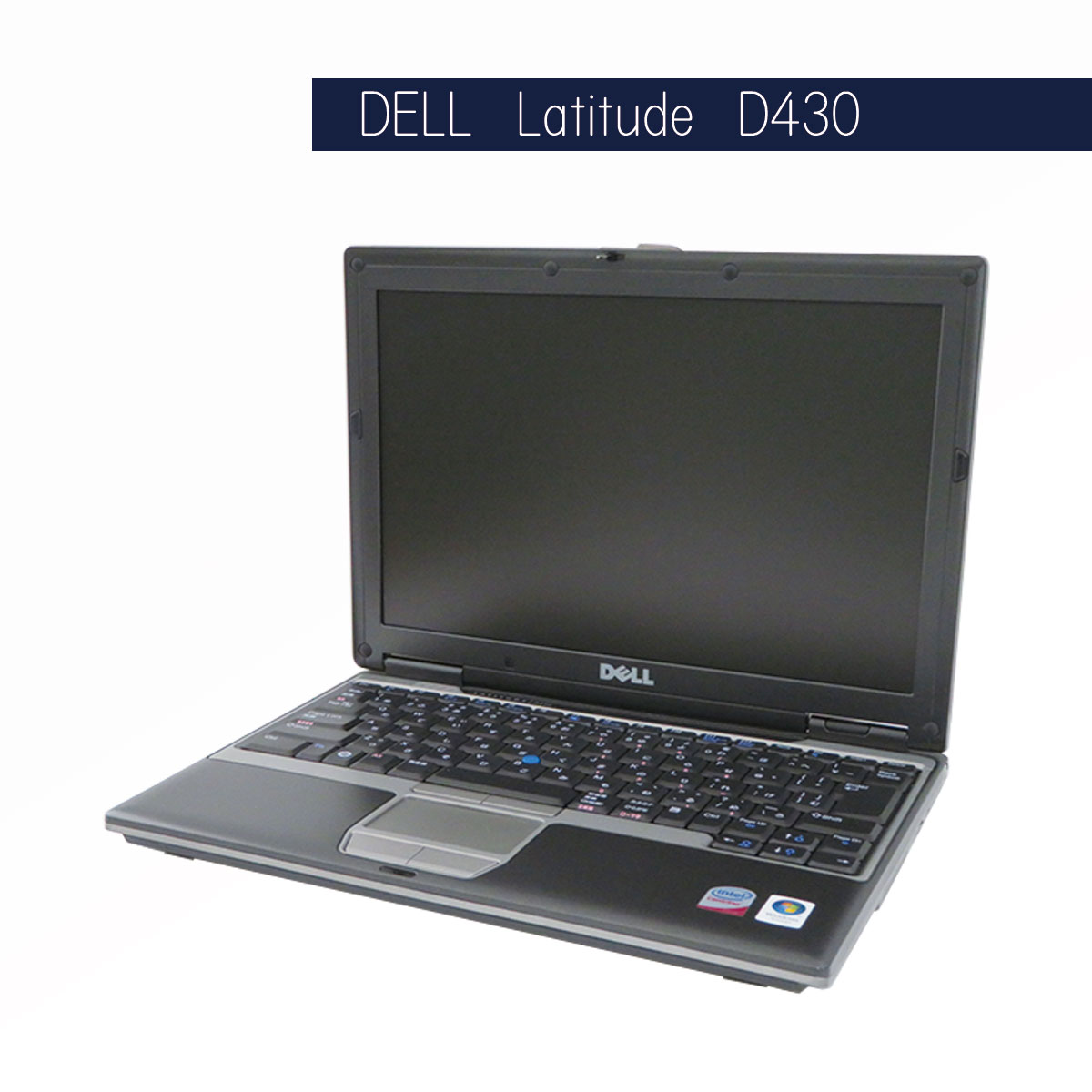 DELL Latitude D430 Core2Duo U7700 2GB 60GB(WinXP) WLAN